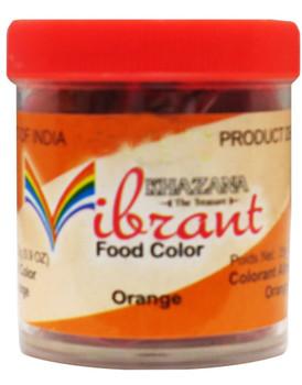 Vibrant Food Color - Orange 25 gms