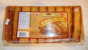 Twi Crispy Almond Cake Rusk- 750g