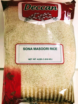 Deccan Sona Masoori Rice - 4lb