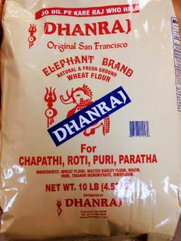 Dhanraj Chappati Flour - 10lb