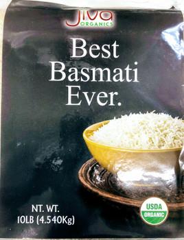 Jiva Organic Basmati Rice - 10lb
