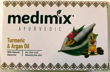 Medimix Turmeric/Argan Oil Glycerin Soap - 125g