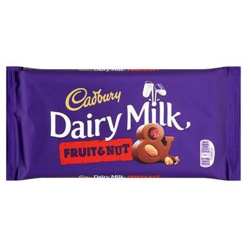 Cadbury Dairy Milk Fruit & Nut Medium