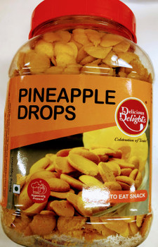 Delicious Delight Pineapple Drops - 275g