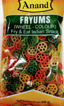 Anand Wheel Fryums - 400g
