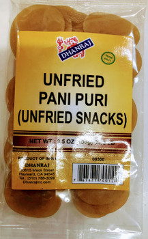 Dhanraj Unfried Pani Puri - 100g