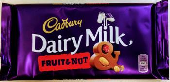 Cadbury Fruit & Nut Bar - 200g