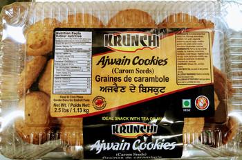 Krunchi  Ajwain Cookies - 2.5lb