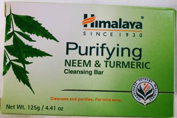 Himalaya Neem And Turmeric Cleansing Bar -4.41oz
