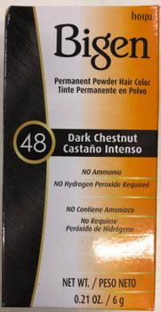 Bigen Dark Chestnut 48 - 6g