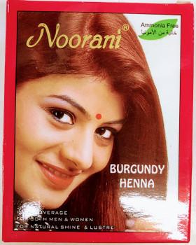 Noorani Burgundy Henna - 100g