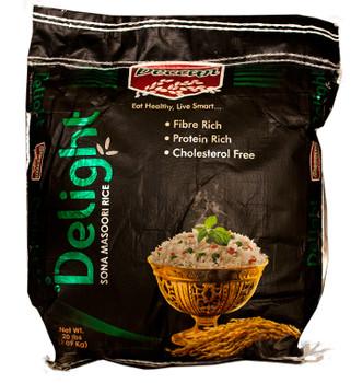 Deccan Delight Sona Masoori Rice 20lb