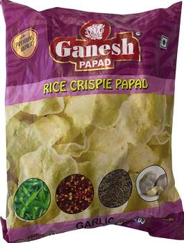 Ganesh Rice Crispies (Khichiya) Garlic 160gm