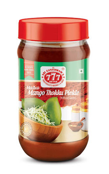 777 Mango Thokku Pickle 300gm - Buy 1 Get 1 Free