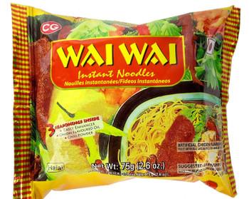 Wai Wai Noodles Chicken 75gm
