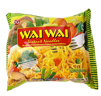 Wai Wai Noodles Veg 75gm