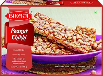 Bikaji Peanut Chikki 400 Gms