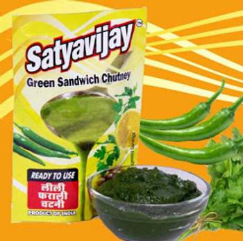 Satya Vijay Green Chutney 100 Gms
