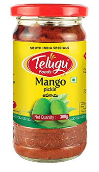 Telugu Pickle Mango Pickle 300 Gms