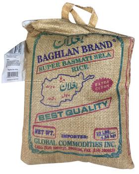 Baghlan Parboil Basmati Rice 40lb