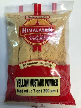 Himalayan Delight Yellow Mustard Powder 200 Gms