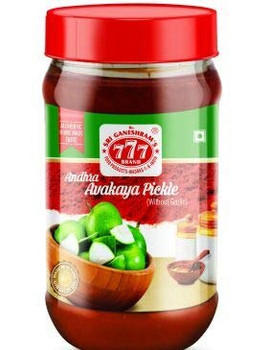 777 Andhra Avakkaya Pickle 300 Gms - Buy 1 Get 1 Free