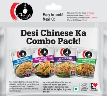 Chings Chinese Masala Combo Pack - 20g