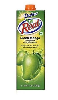 Dabur Real Aampanna (Green Mango)  1ltr
