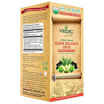 Vedic Organic Sugar Balance 500ml