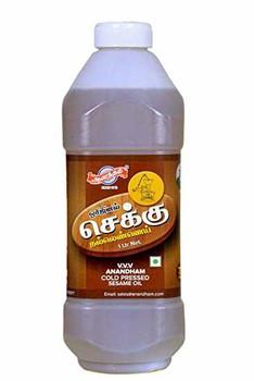 Anandham Cold Pressed Sesame Oil 2 ltr