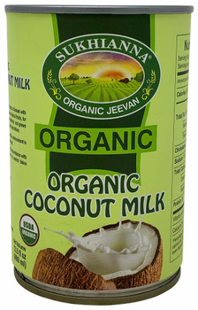 Sukhiana Organic Coconut Milk 17% Fat 400 ml