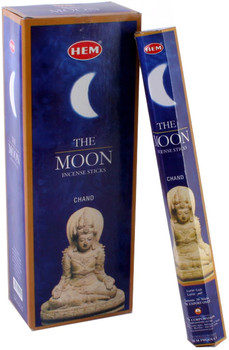 Hem The Moon (Incence Stick) 6 Packets/Hex