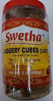 Swetha Jaggery Cubes in Pet Jar 2 Lbs