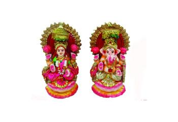 """Mitti Laxmi Ganesh (8"""") 91073"""