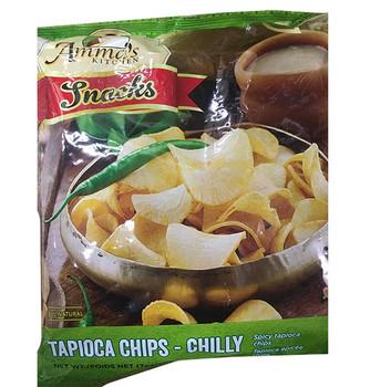 Amma's Tapioca Chips Chilli 200gm