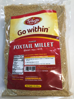 Go Within Foxtail Millet 2 Lbs