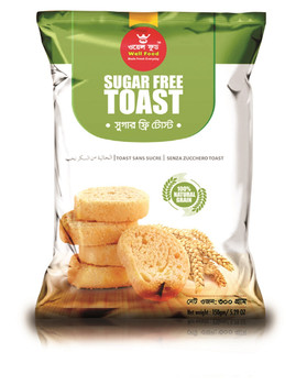 Well Food  Sugar Free Toast 300gm
