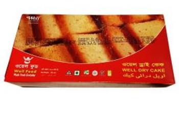 Well Food Fruit Dry Cake 300gm