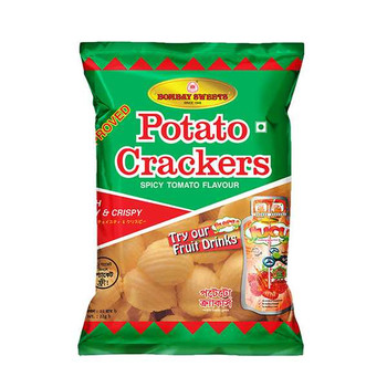 Bombay Sweet Potatos Crackers 25gm