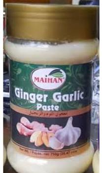 Maihan Ginger Garlic Paste 750gm