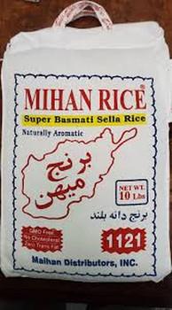 Mihan Basmati Steam Rice 10lb