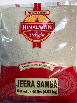 Himalayan Delight Jeera Samba Rice 10 Lbs
