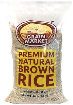 Grain Market Natural Brown Rice 10lb