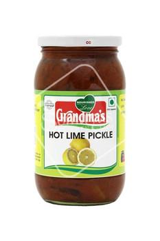 Grandmas - Lime Pickle - Hot & Sweet - 400gm