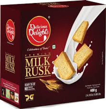 Delicious Delights Milk Rusk 400gm