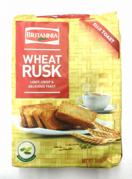Brit.Wheat Rusk 235gm
