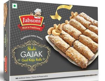 Jabson Gajak - Gud Kaju Roll 350gm