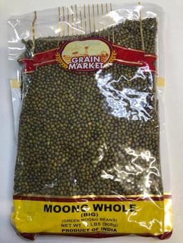 Grain Market Moong Whole 2lb
