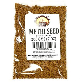 Grain Market Methi Seeds 400gm