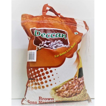 Deccan Brown Sona Masoori Rice 10lb